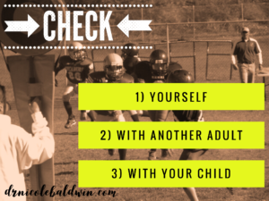 3 steps to avoid toxic sideline parenting